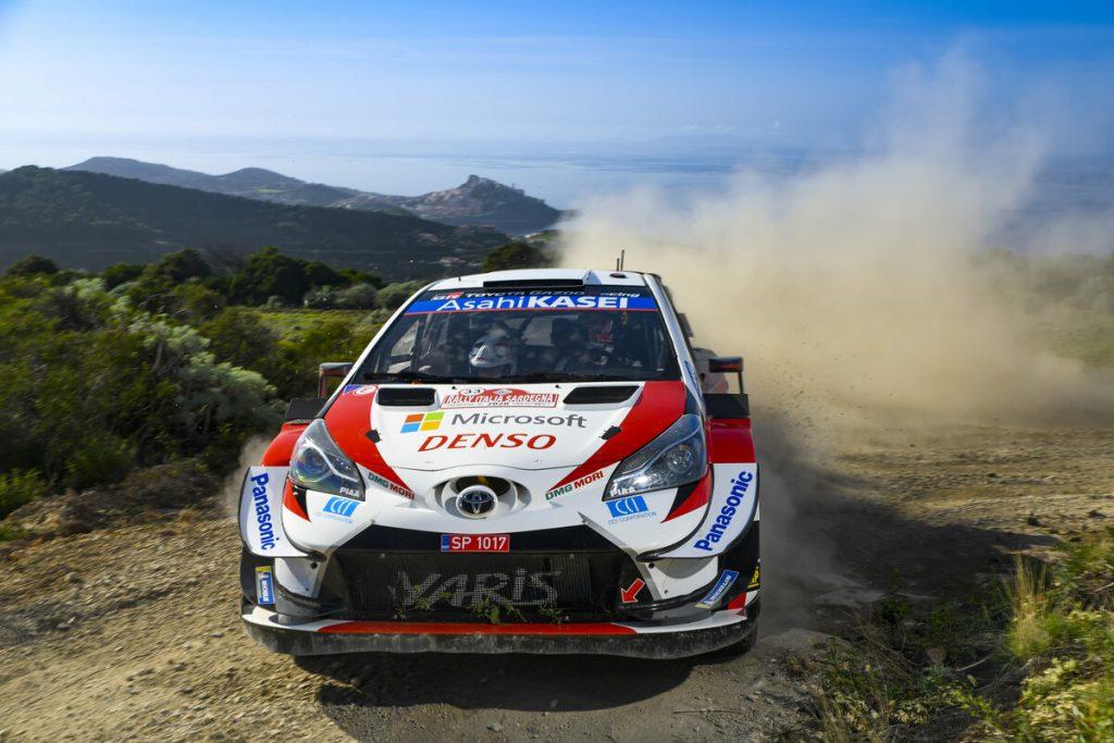 Toyota WRC Rennauto